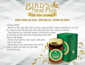 thành phần Yến Sào Song Yến bird's nest plus