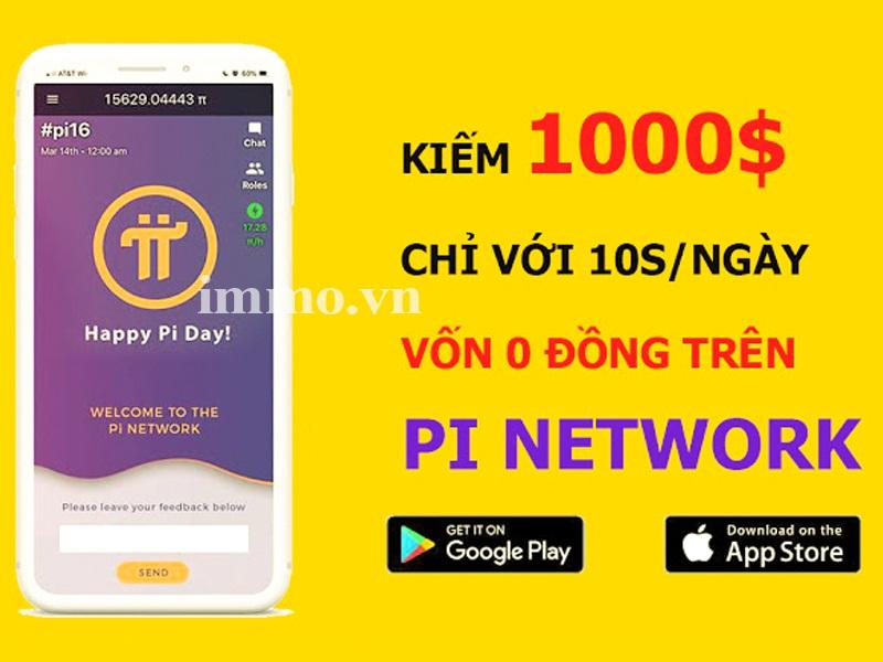 App pi network - cách kiếm tiền online với vốn 0 đồng