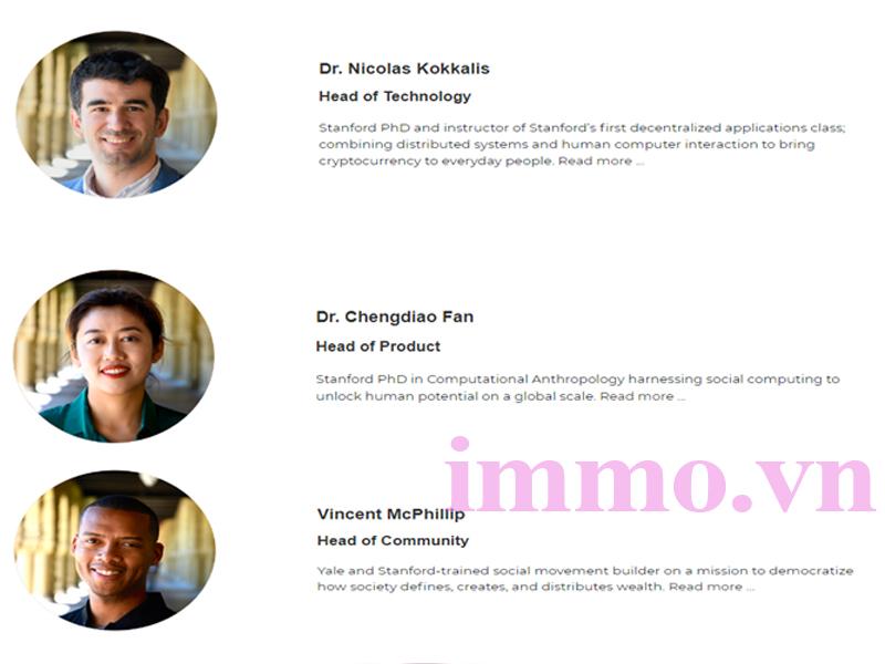 Đội ngũ sáng lập Pi Network